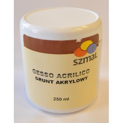 Grunt Akrylowy Gesso Acrilico 250ml Szmal