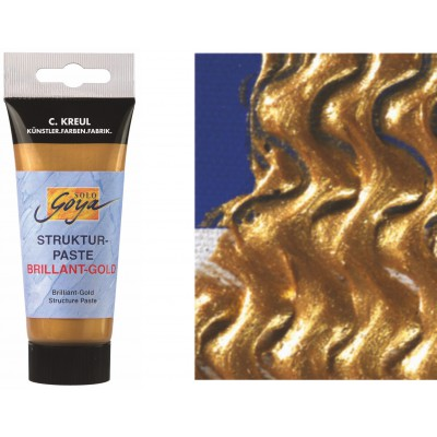 Pasta strukturalna - złoto 100ml