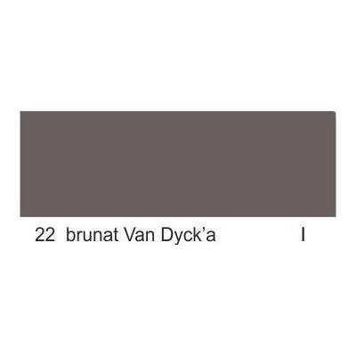 22 brunat Van Dyck'a grupa 1