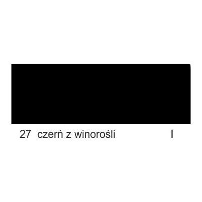 27 czerń z winorośli I