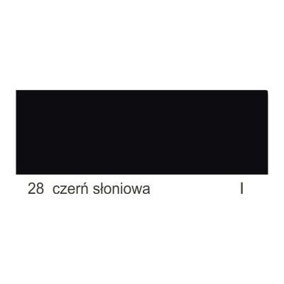 28 czerń słoniowa I