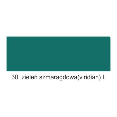 30 zieleń szmaragdowa (viridian) II