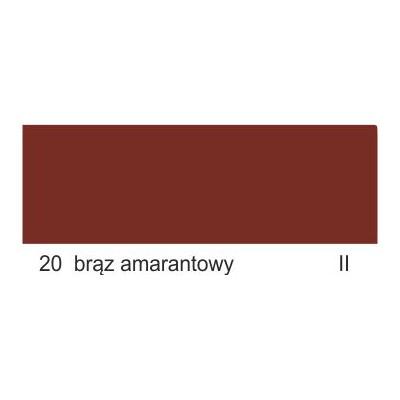 20 brąz amarantowy II