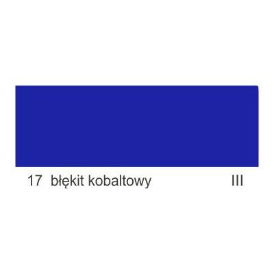 17 błękit kobaltowy III