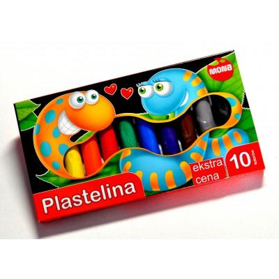 Plastelina MONA 10 kolorów