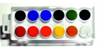 Farby akwarelowe KIN-12 kolorów