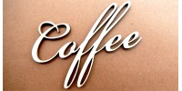 Dekor ażurowy COFFE
