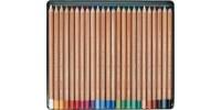 Pastele suche Gioconda 12 kolorów w metalowej kasecie