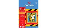 Blok Canson Rysunkowy Kolorowy 70g 10ark A4