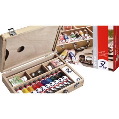 Basic Box zestaw farb akrylowych