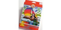 Szkolne Krecik 36 kolorów