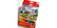 Szkolne Tom & Jerry 36 kolorów